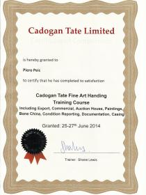 Fine Art Certificate -Cadogan Tate
