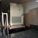 Robotic moving of 500kg equipment