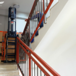 Stair climber moving 300kg medical equipment