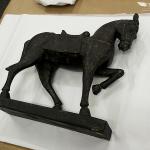 Fine art sculpture packing